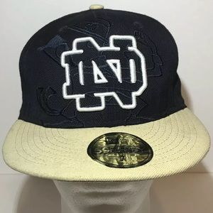 Notre Dame New Era 59fifty fitted hat